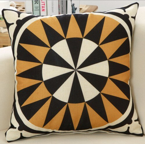 Vintage Geometric Pillow Cases