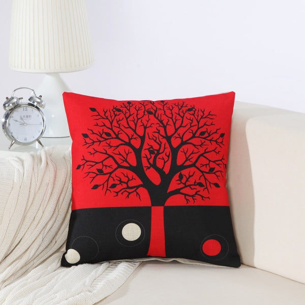 Roots of Happiness Pillow Cases