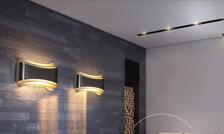 Grecia - Curved LED Wall Lamp