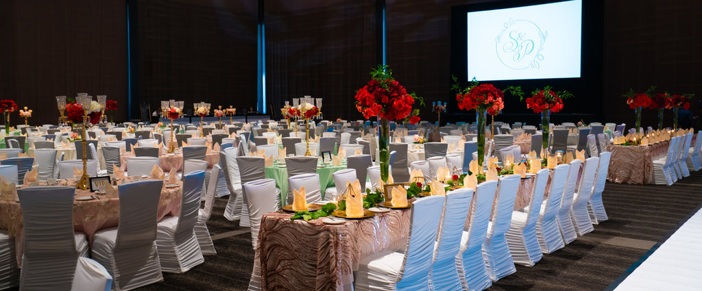 Grand Wedding Decor By M Wedding & Events at Edmonton Convention Centre