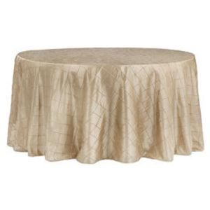 "120"" Pintuk Tablecloth - Gold"