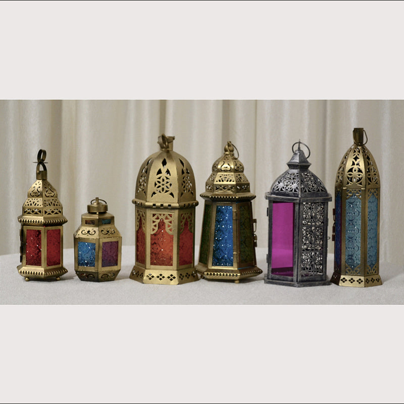 Small Moroccan Lanterns for Traditional Events