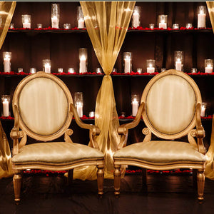 Arm Chairs for bride and groom