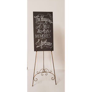 Custom Chalkboard - Small