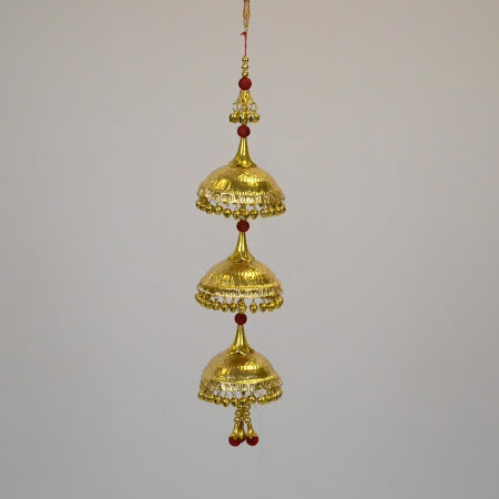 Red and Gold Kalire Hanging