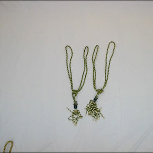 Green Tassel for draping