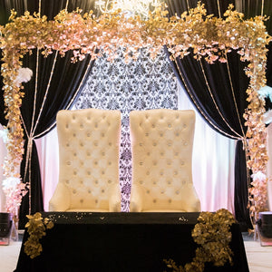 High Back Wedding Chairs