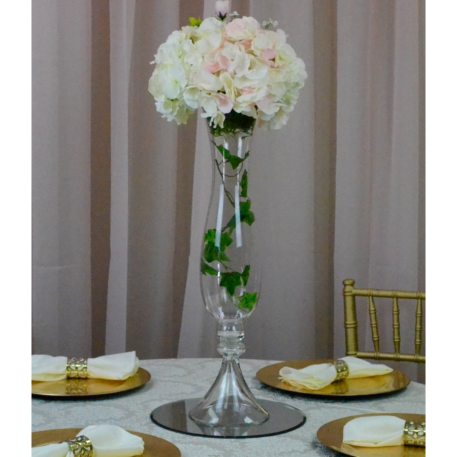 Blush & Ivory Floral Centrepiece