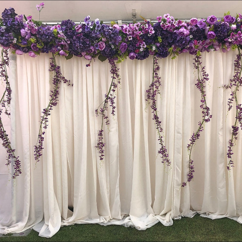 Floral Crown Backdrop for wedding and showers
