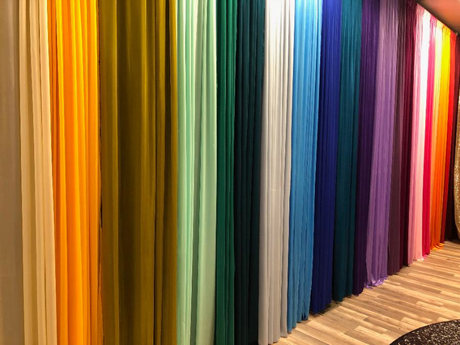 Lycra Drape Panels for Backdrop