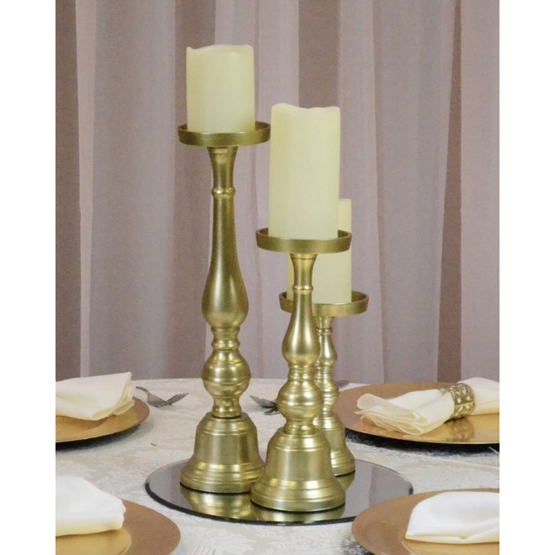 Pillar Candle Holder for centrepieces