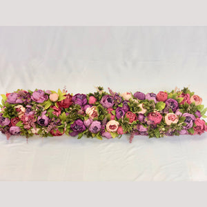 Shades of Plum & Purple Flower Crown