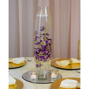 "20"" Bullet Vase with submerged flower centrepiece"