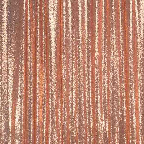 Blush sequin drape panel for backdrops