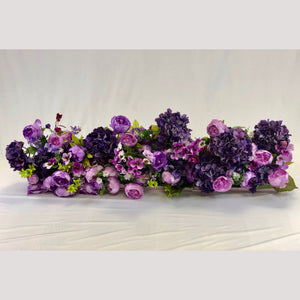 Purple Flower Crown for backdrops and Mandaps