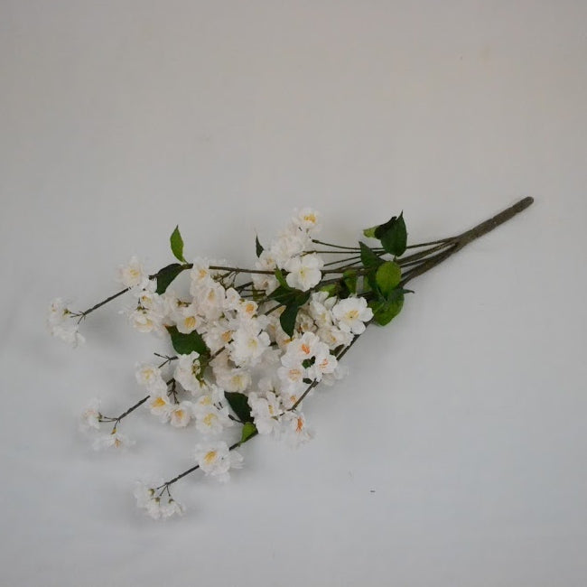 White Flower with Eiffel Tower Centrepiece