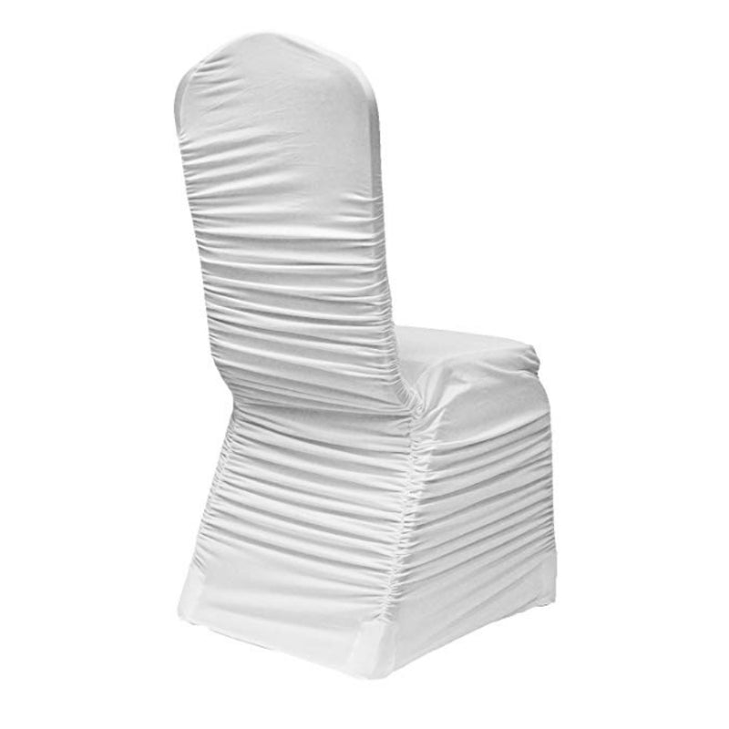 Champagne Ruched Chair Cover