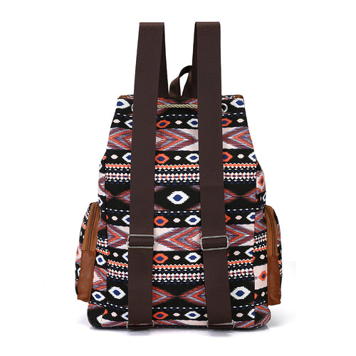 Bohemian Canvas Fashion Backpack