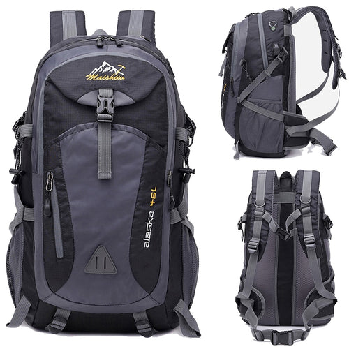 Waterproof USB Charging Climbing Backpack