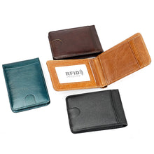 Load image into Gallery viewer, Genuine Leather Credit Card Holder