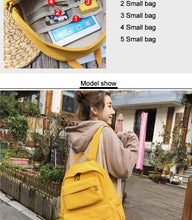 Load image into Gallery viewer, Waterproof Nylon School Bag