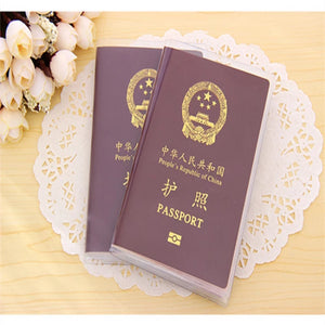Travel Waterproof Dirt Passport Holder