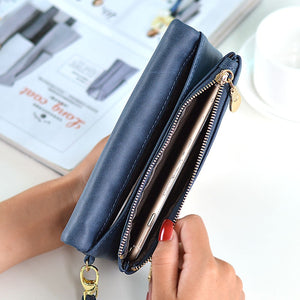 Dull Polish Leather Wallet