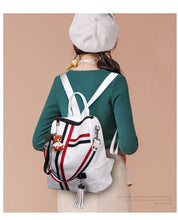 Load image into Gallery viewer, New Retro Fashion Zipper Backpack