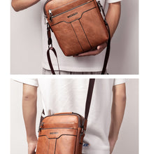 Load image into Gallery viewer, Vegan Leather Crossbody Messenger Bag