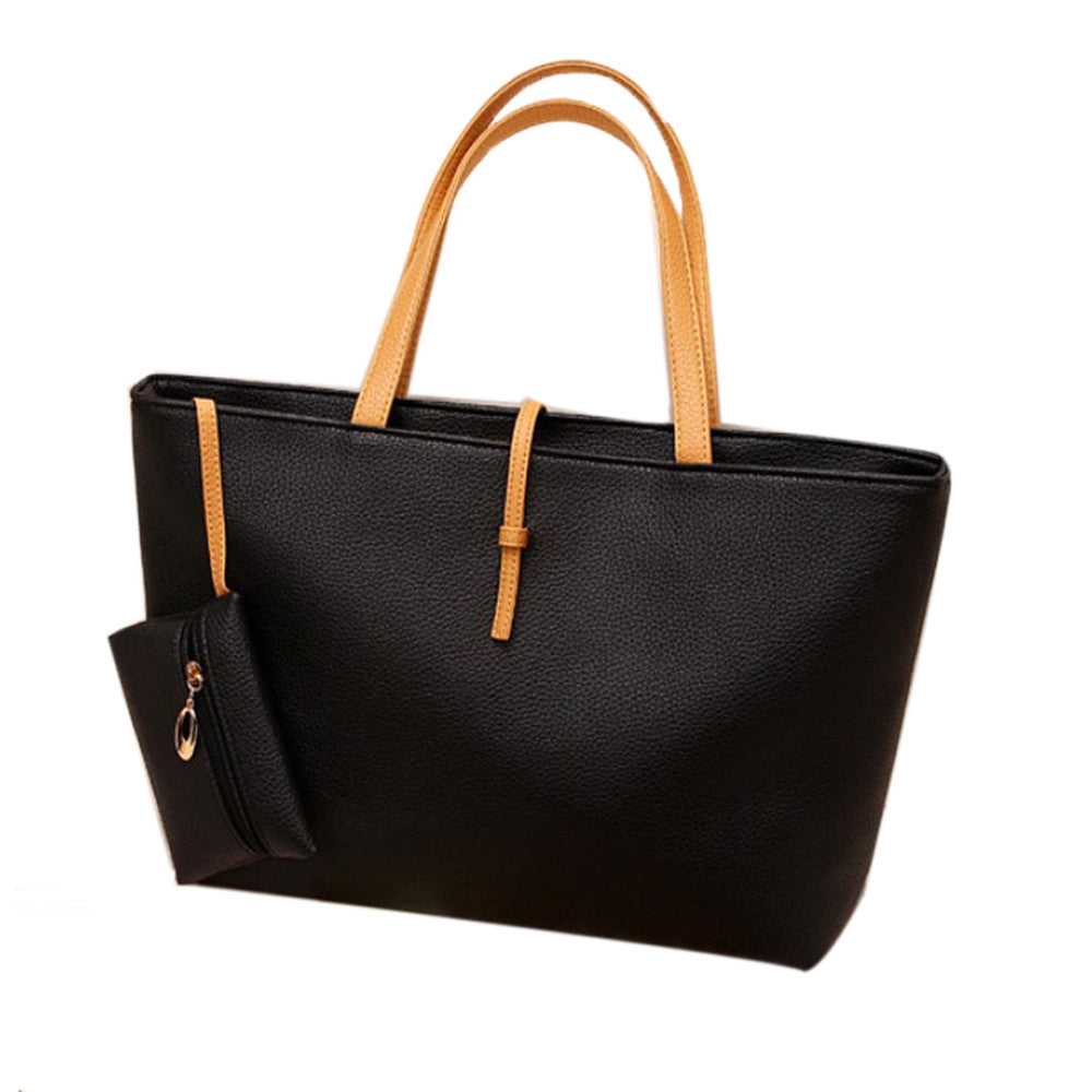 FREE - Vegan Leather Tote Bag
