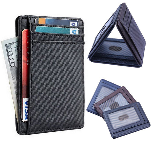 Free - Luxury Carbon Fiber Wallet