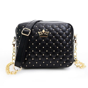 Crown Mini Rivet Handbag
