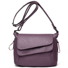Load image into Gallery viewer, Leather High Quality Simple Handbag