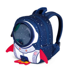 Load image into Gallery viewer, Anti-lost School Bag Rocket 3D