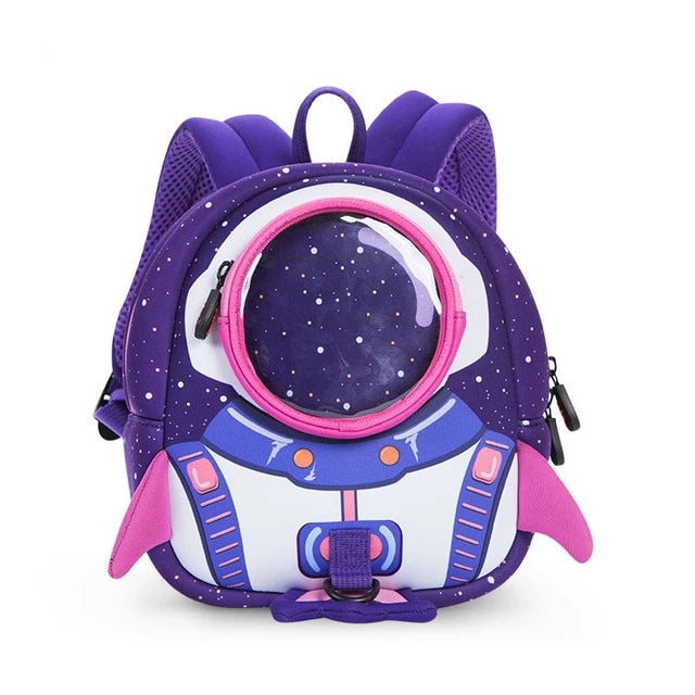 Anti-lost School Bag Rocket 3D