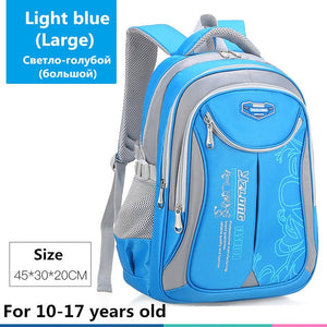 Large Capacity School Bag