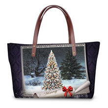 Load image into Gallery viewer, Christmas Lights Tote Bag