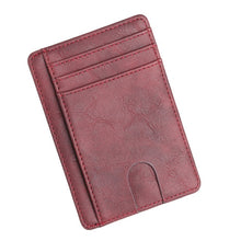 Load image into Gallery viewer, Vintage Men's Wallet Credit Card Holder Business Brand Male Mini Wallets Purse billetera hombre BID251 PM49