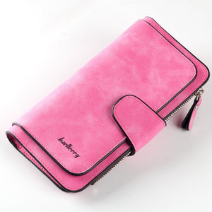 Wallet Women Scrub Leather Lady Purses High Quality Ladies Clutch Wallet Long Female Wallet Carteira Feminina