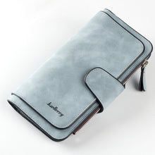 Load image into Gallery viewer, Wallet Women Scrub Leather Lady Purses High Quality Ladies Clutch Wallet Long Female Wallet Carteira Feminina