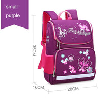 Load image into Gallery viewer, 2019 New Children School Bags Girls Butterfly School Backpack Kids Satchel Boy Car Knapsack Girl Backpack For School Space Bag