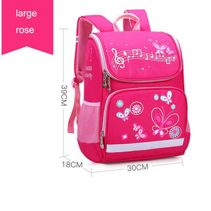 2019 New Children School Bags Girls Butterfly School Backpack Kids Satchel Boy Car Knapsack Girl Backpack For School Space Bag