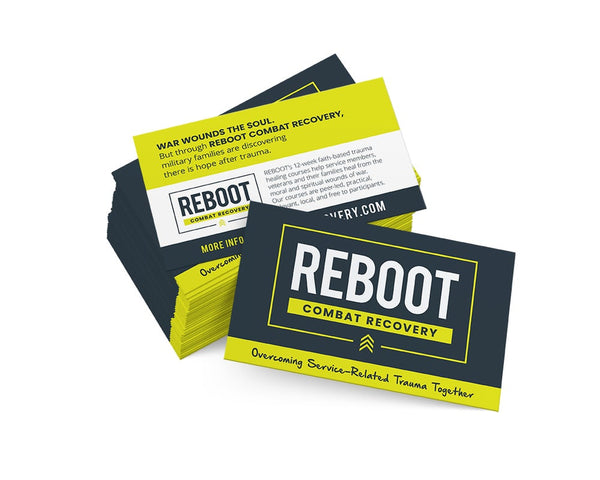 REBOOT Combat Recovery Mini-Postcards (pk of 50)