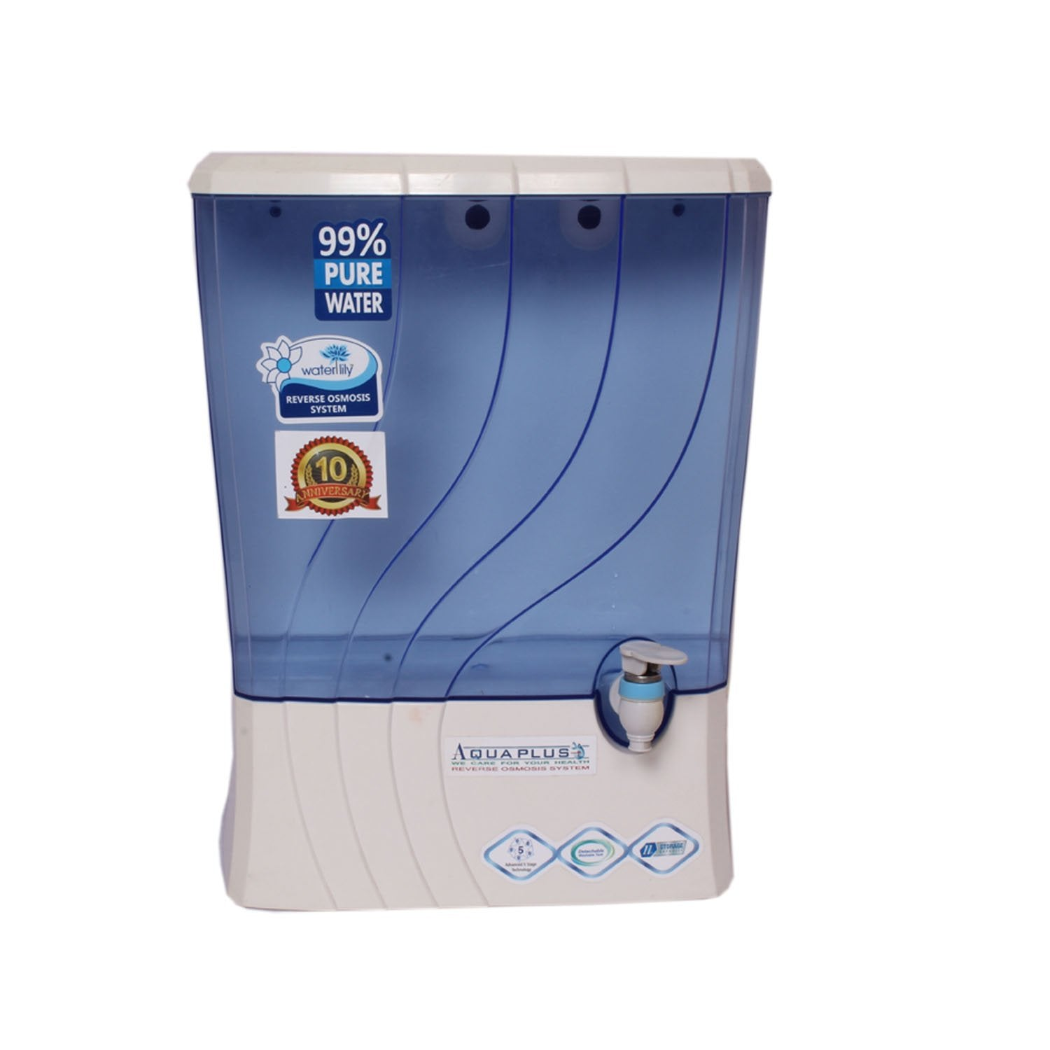 Aquaplus Waterlily RO Water Purifier With Active Copper