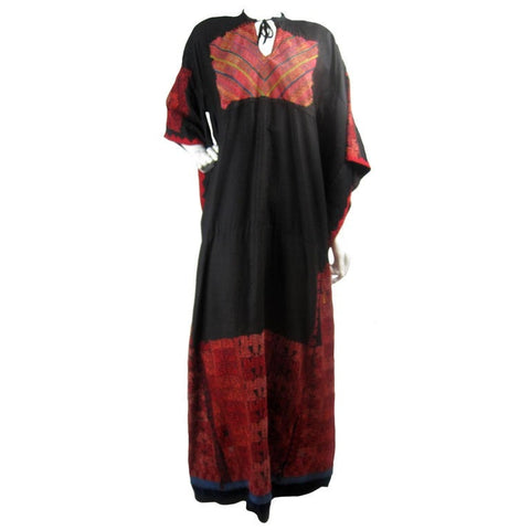 Vintage Clothing: 1900's Antique Bedouin Embroidered Dress