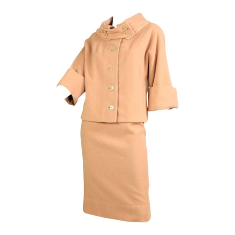 Vintage Clothing: 1950's Rudi Gernreich for Walter Bass Wool Skirt Suit