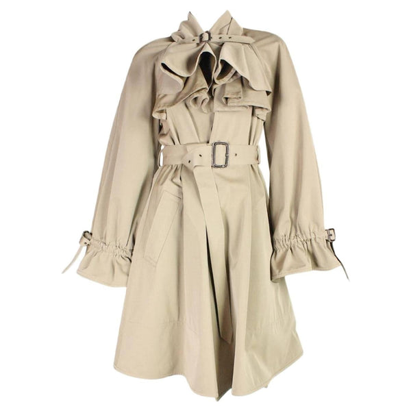 Jean-Paul Gaultier Trench Coat with Buckle Detailing Vintage - regenerationvintageclothing