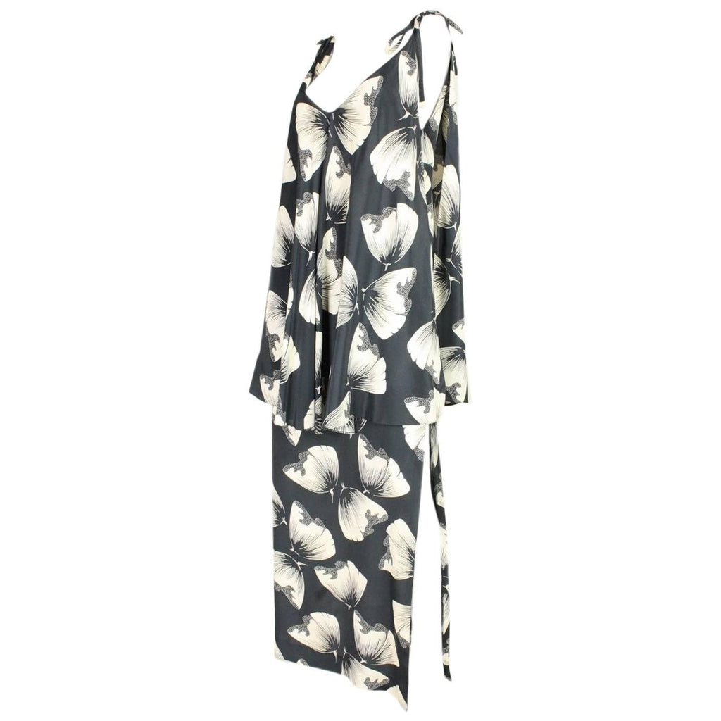 Vintage Clothing: 1970's Printed Silk Dress from Renata