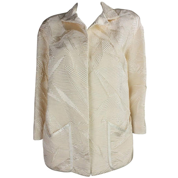 Vintage Clothing: 1980's Galanos Textured Silk Jacket