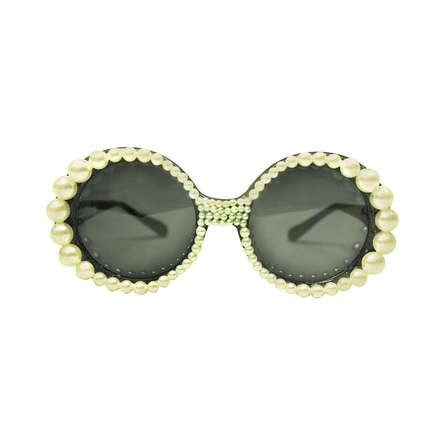 Vintage Clothing: Contemporary Mecura NYC Pearl Sunglasses